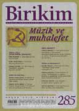 Birikim / Sayı:285 Yıl: 2013 / Aylık Sosyalist Kültür Dergisi