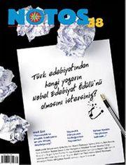 Notos Öykü İki Aylık Edebiyat Dergisi Şubat - Mart Sayı:38