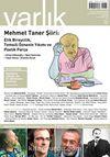 Varlık Aylık Edebiyat ve Kültür Dergisi Mart 2013