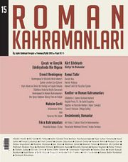 Roman Kahramanları Üç Aylık Edebiyat Dergisi / Temmuz - Eylül  Sayı:15 2013