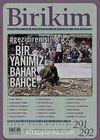 Birikim / Sayı:291-292 Yıl: 2013 / Aylık Sosyalist Kültür Dergisi (Temmuz-Ağustos)