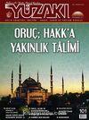 Yüzakı Aylık Edebiyat, Kültür, Sanat, Tarih ve Toplum Dergisi/Sayı:101 Temmuz 2013