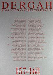 Dergah Edebiyat Sanat Kültür Dergisi 157-168 Cilt 14