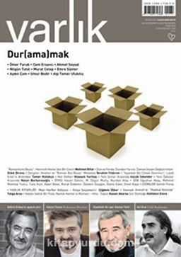 Varlık Aylık Edebiyat ve Kültür Dergisi Ocak 2014