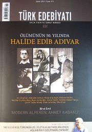 Türk Edebiyatı / Aylık Fikir ve Sanat Dergisi Sayı:484 Şubat 2014