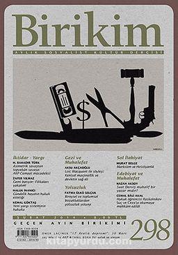 Birikim / Sayı:298 Yıl: 2014 / Aylık Sosyalist Kültür Dergisi