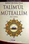 Talim'ül Müteallim & Medrese Usulü Kelime Manalı (Ciltli)