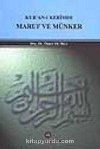 Kur'an-ı Kerim'de Maruf ve Münker - Doç. Dr. Ömer Dumlu pdf epub