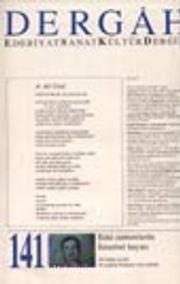 Dergah Edebiyat Sanat Kültür Dergisi / Kasım 2001 - Sayı 141 - Cilt:XII
