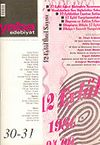 Yaba Edebiyat Sayı: 30-31 Birleşik Sayı/ Eylül-Ekim-Kasım-Aralık 2004
