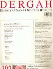 Dergah Edebiyat Sanat Kültür Dergisi / Mart, Sayı 193, Cilt XVI