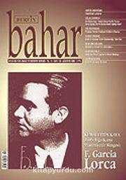 Sayı:102 Ağustos / Berfin Bahar/Aylık Kültür, Sanat ve Edebiyat Dergisi 2006