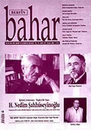 Sayı:107 Ocak 2007 / Berfin Bahar / Aylık Kültür, Sanat ve Edebiyat Dergisi