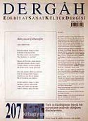Mayıs 2007, Sayı 207, Cilt XVIII / Dergah Edebiyat Sanat Kültür Dergisi