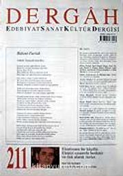 Eylül 2007, Sayı 211, Cilt XVIII / Dergah Edebiyat Sanat Kültür Dergisi
