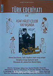 Sayı: Türk Edebiyatı / Aylık Fikir ve Sanat Dergisi Sayı:410 Aralık 2007