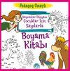 Hayvanlar Dünyası Çocuklar için Sayılarla Boyama Kitabı