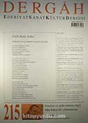 Ocak 2008, Sayı 215, Cilt XVIII / Dergah Edebiyat Sanat Kültür Dergisi