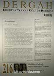 Şubat 2008, Sayı 216, Cilt XVIII / Dergah Edebiyat Sanat Kültür Dergisi