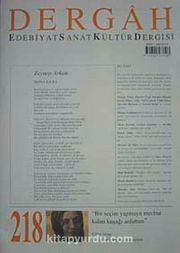 Nisan 2008, Sayı 218, Cilt XVIII / Dergah Edebiyat Sanat Kültür Dergisi