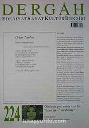 Dergah Edebiyat Sanat Kültür Dergisi Ekim 2008 Sayı:224