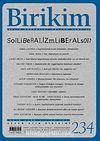 Birikim / Sayı:234 Yıl: 2008 / Aylık Sosyalist Kültür Dergisi