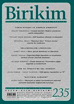 Birikim / Sayı:235 Yıl: 2008 / Aylık Sosyalist Kültür Dergisi