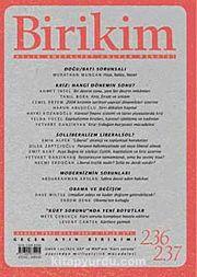 Birikim / Sayı:236-237 Yıl: 2009 / Aylık Sosyalist Kültür Dergisi