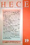 Sayı 19 Temmuz 1998 Hece Aylık Edebiyat Dergisi