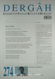 Dergah Edebiyat Sanat Kültür Dergisi Sayı:274 Aralık 2012