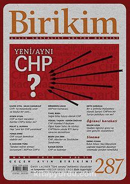 Birikim / Sayı:287 Yıl: 2013 / Aylık Sosyalist Kültür Dergisi