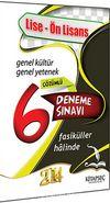 2014 KPSS Lise-Ön Lisans Genel Kültür Genel Yetenek Çözümlü 6 Deneme Sınavı (Fasiküller Halinde)