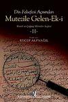 Din Felsefesi Açısından Mutezile Gelen Ek-i II & Klasik ve Çağdaş Metinler Seçkisi