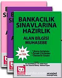 Banka Sınavlarına Hazırlık (Üniversite Mezunları İçin) Modüler Set 3'lü - Alan Bilgisi
