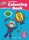 First Sticker Colouring Book / İlk Çıkartma Boyama Kitabı 3 Yaş+