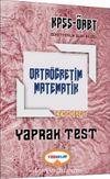 2017 KPSS ÖABT Ortaöğretim Matematik Çek Kopart Yaprak Test