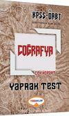 2017 KPSS ÖABT Coğrafya Çek Kopart Yaprak Test