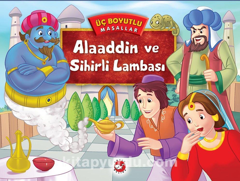 Alaaddin ve SihirliLambası / Üç Boyutlu Masallar -  pdf epub