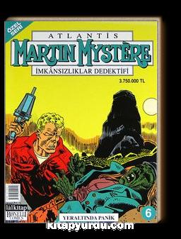 Martin Mystere (Özel Seri) Sayı:6 Yeraltındaki Panik