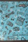 Mynote Defter - Melody Müzik Defteri 40 Yaprak (3 Adet)
