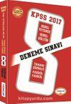2017 KPSS Genel Yetenek Genel Kültür 8 Deneme Sınavı