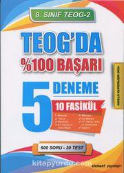 8. Sınıf Teog 2 Teog'da %100 Başarı 5 Deneme 10 Fasikül Set
