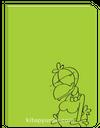 Limon ile Zeytin Defter (Yeşil)