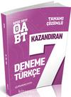2017 ÖABT Türkçe Öğretmenliği Tamamı Çözümlü 7 Deneme