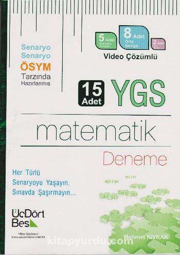 YGS Matematik 15 Deneme - Mehmet Kıvrak pdf epub