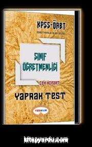2017 KPSS ÖABT Sınıf Öğretmenliği Çek Kopart Yaprak Test