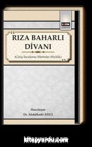 Rıza Baharlı Divanı & Giriş-İnceleme-Metinler-Sözlük