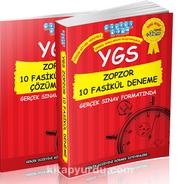 YGS Zopzor 10 Fasikül Deneme Çözüm Kitabı Hediyeli