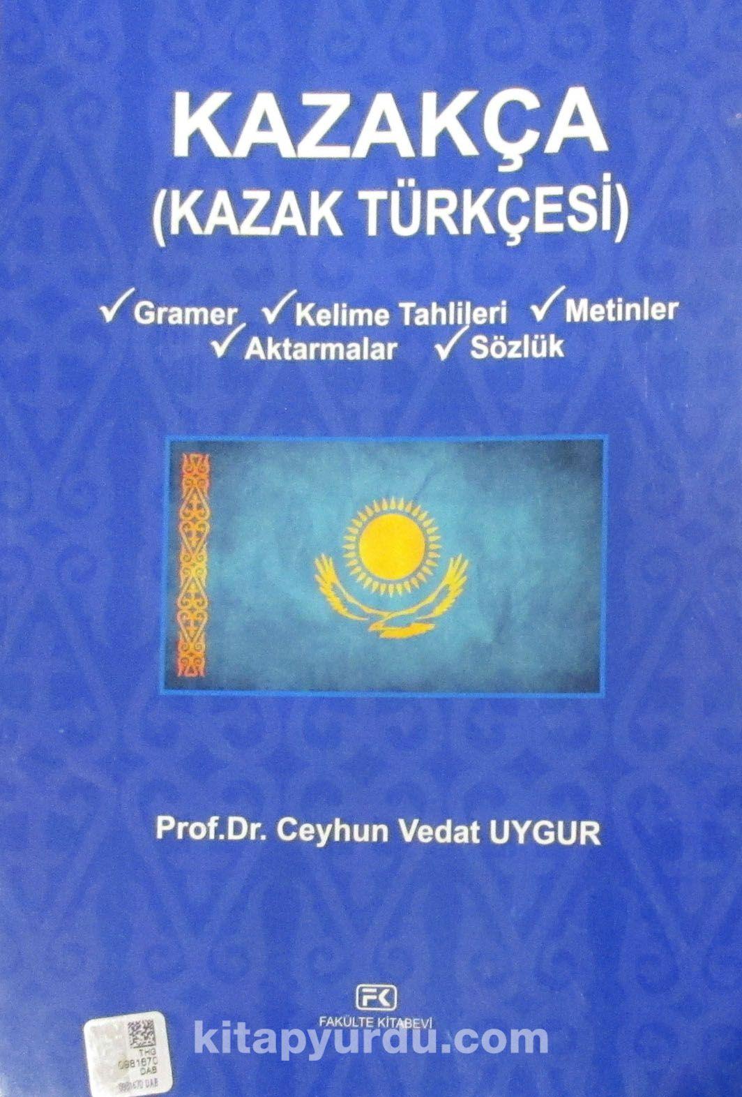 Kazakça (Kazak Türkçesi)
