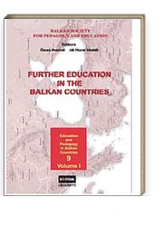 Further Education in The Balkan Countries Volume-1